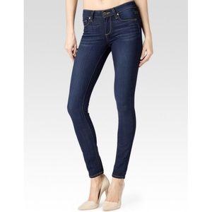 Paige Verdugo Ultra Skinny Dark Wash Stretch Jeans